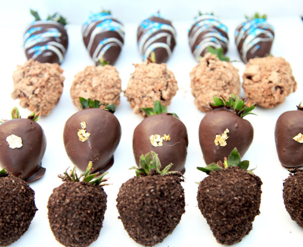 Chocolate Coated Strawberries