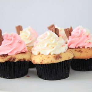 vanilla flake cupcakes