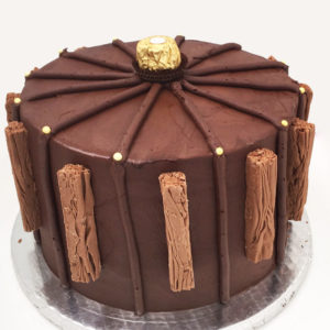 Chocolate flake cake