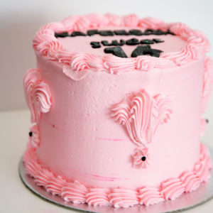 vanilla butter icing cake
