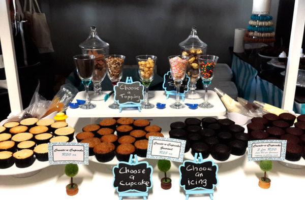 Create a cupcake options