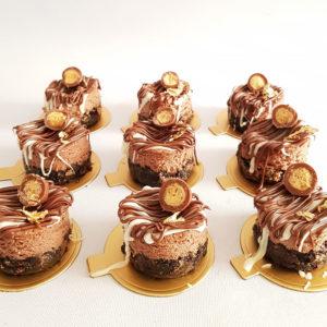 chocolate nutella and oreo cheesecake