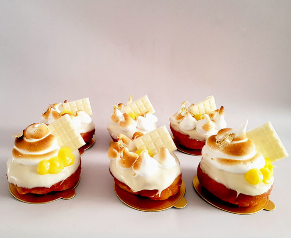lemon meringue donuts